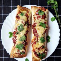Cheesy Chicken Enchiladas with Homemade Mole Sauce