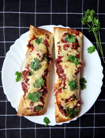 Cheesy Chicken Enchiladas with Homemade Mole Sauce