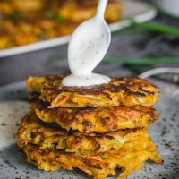 Potato Pumpkin Pancakes (Latkes)