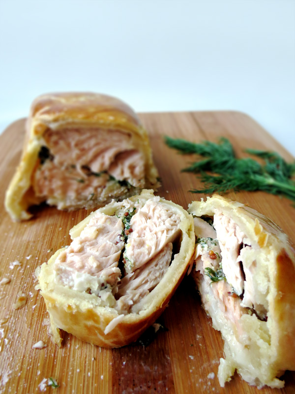 Salmon en Croute Recipe | YummyAddiction.com