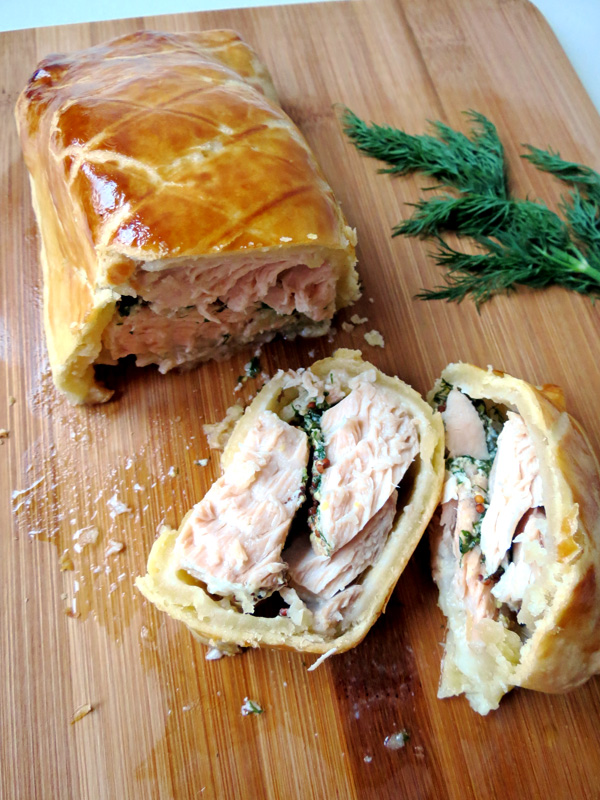 Super Simple Salmon Pie Recipe | YummyAddiction.com