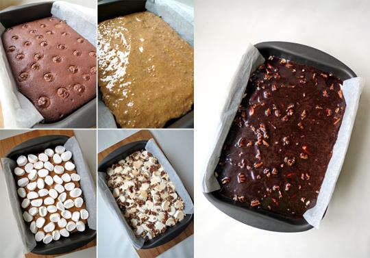How to make Mississippi Mud brownies | YummyAddiction.com