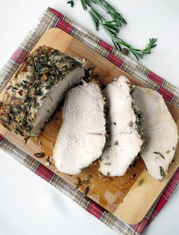 Tender And Juicy Herb Roasted Pork Loin