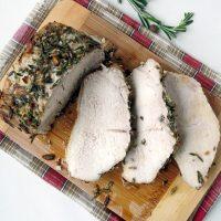 Tender And Juicy Herb Roasted Pork Loin