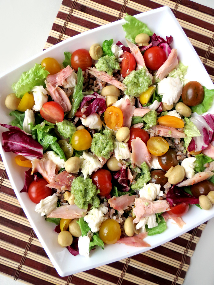 Delicious Smoked Chicken Salad Recipe | YummyAddiction.com