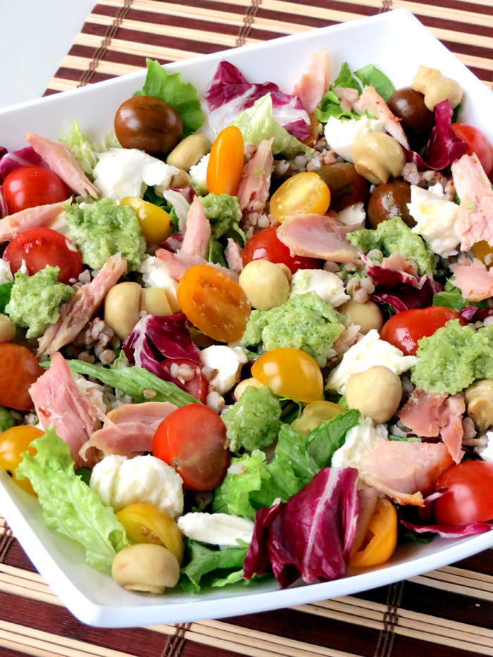 Easy And Delicious Smoked Chicken Salad | YummyAddiction.com