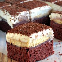 Red Velvet Tiramisu Brownies