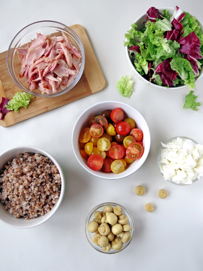 Smoked Chicken Salad Ingredients | YummyAddiction.com