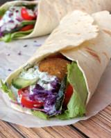 Falafel Wrap with Tzatziki Sauce