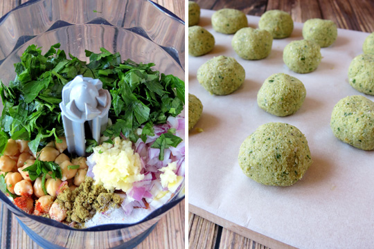 How To Make Falafel Balls | YummyAddiction.com
