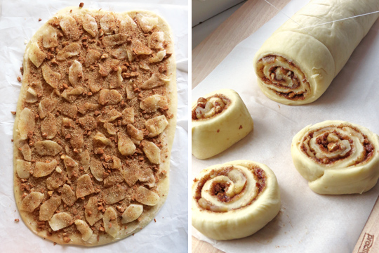 How to make Apple Cinnamon Rolls | YummyAddiction.com