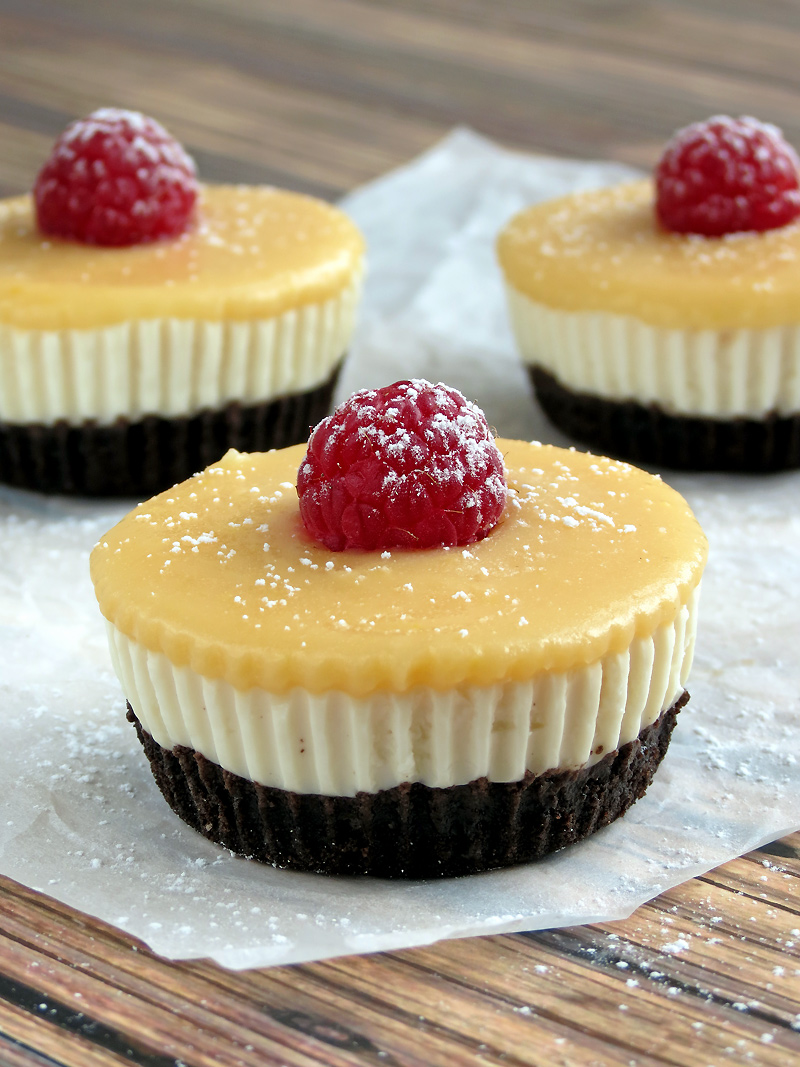 No Bake Lemon Tofu Cheesecake Cups | YummyAddiction.com