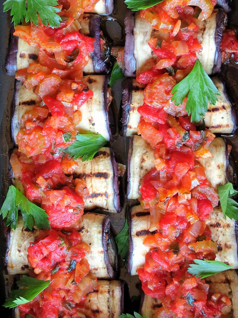 Eggplant Rollatini | YummyAddiction.com