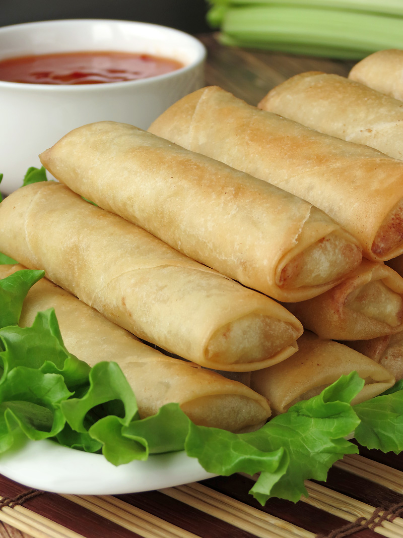 Filipino Spring Rolls - Lumpia | YummyAddiction.com