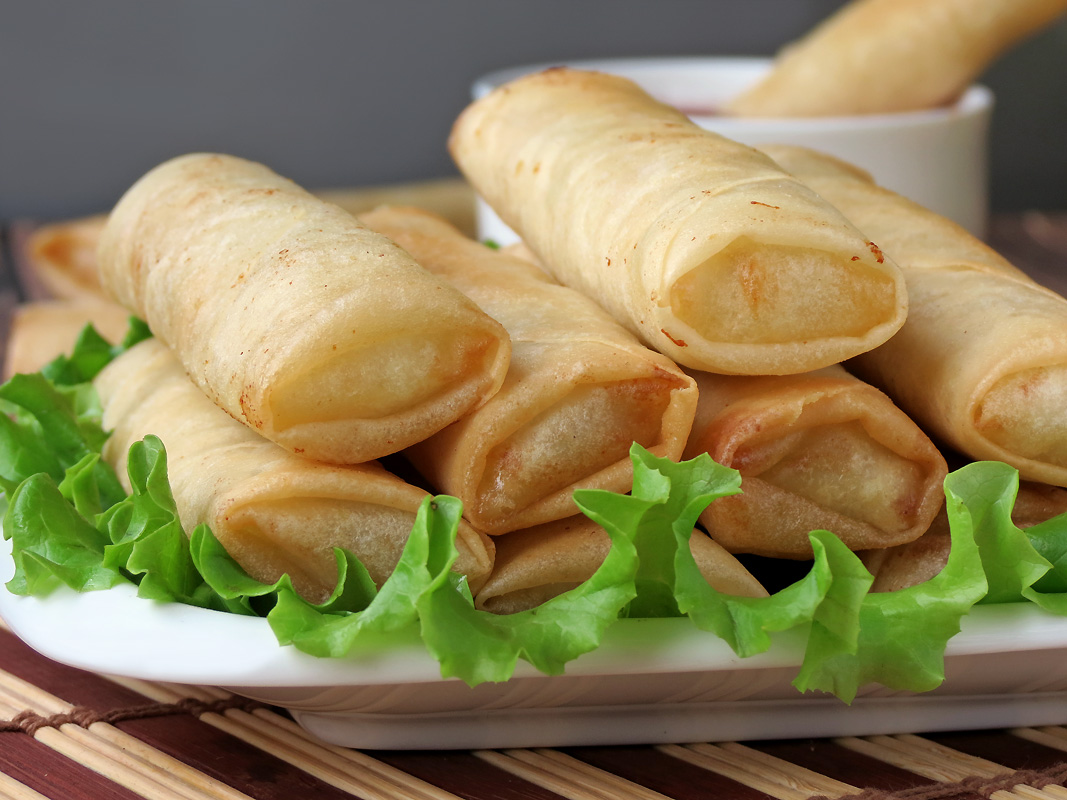 Lumpia - Filipino Spring Rolls | YummyAddiction.com