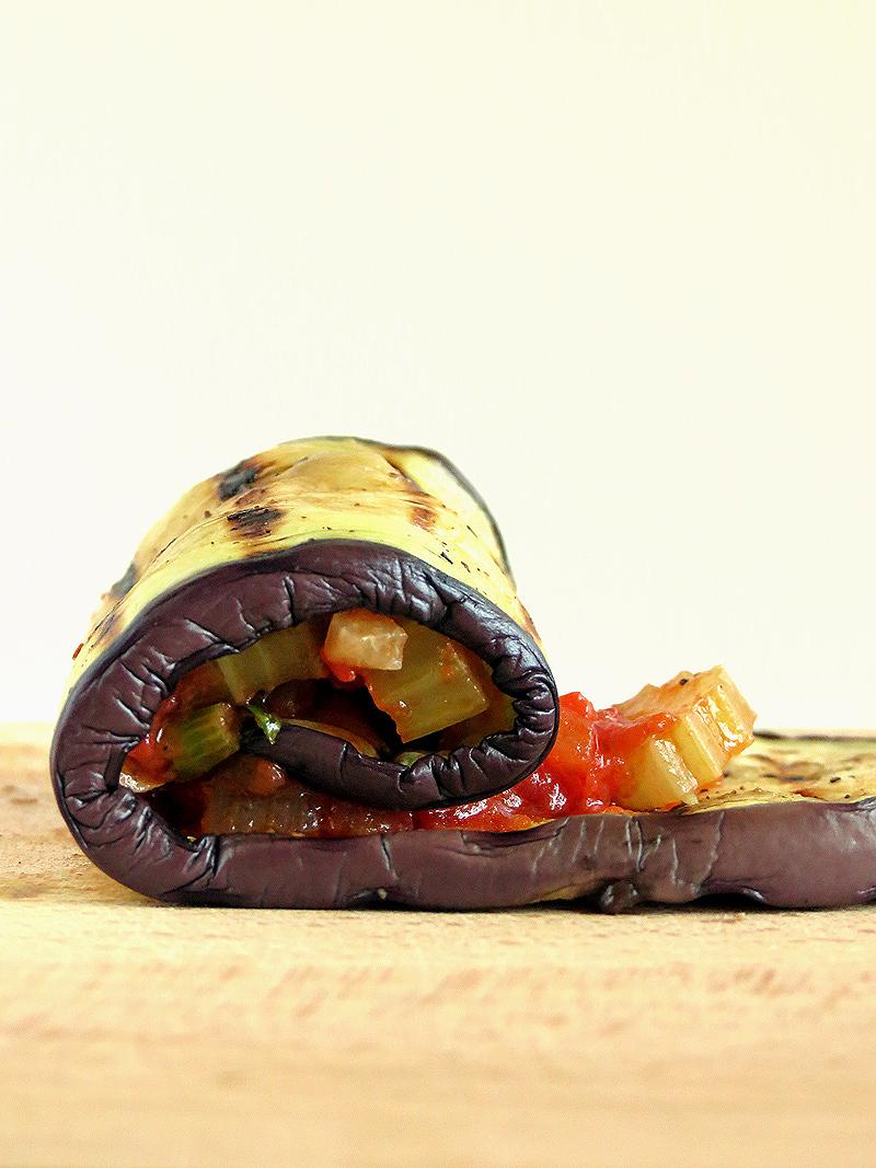 Vegan Eggplant Rollatini | YummyAddiction.com