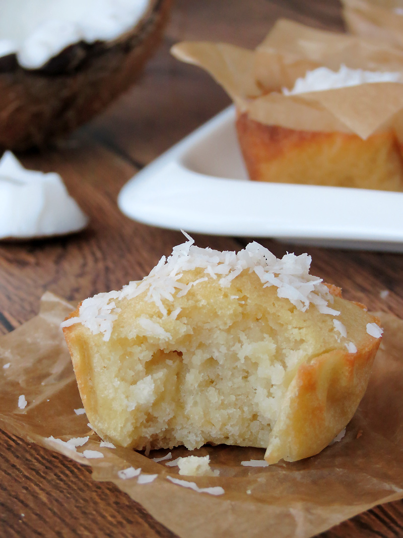 Bibingka (Filipino Rice Muffins) | YummyAddiction.com