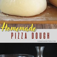 Homemade pizza dough pinterest pin