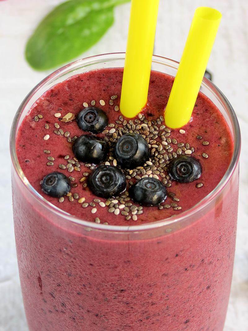 Very Blueberry Smoothie Recipes — Dishmaps