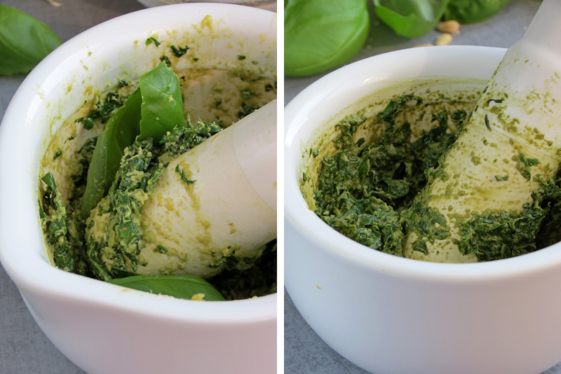 How To Make Pesto From Scratch | YummyAddiction.com
