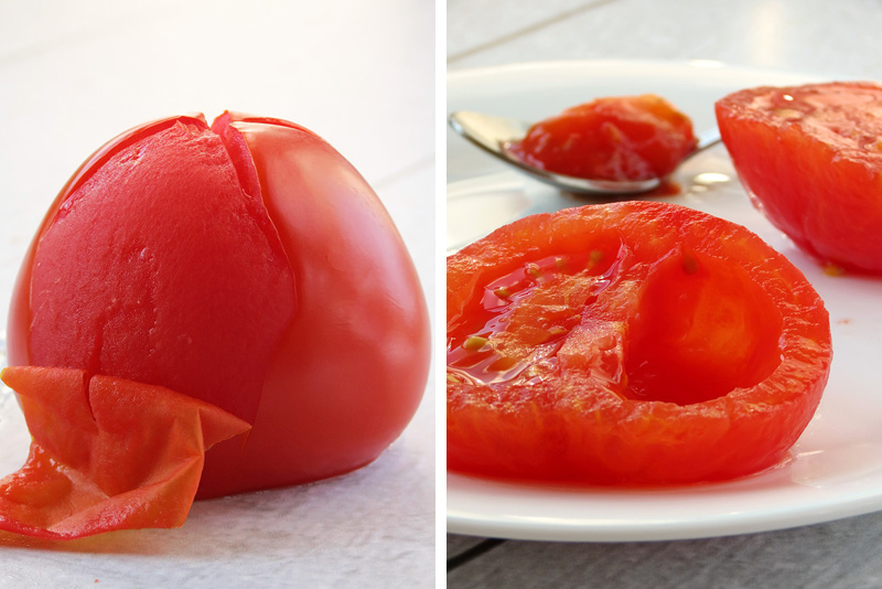 How To Peel And Seed Tomatoes | YummyAddiction.com