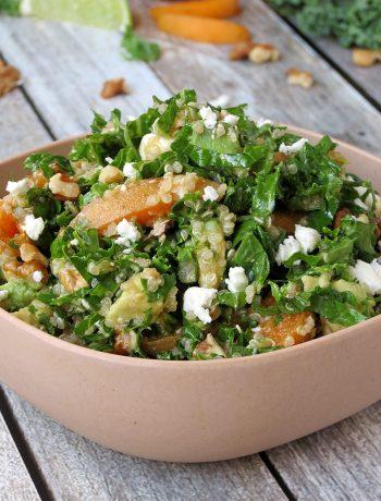 Kale, Quinoa & Apricot Salad