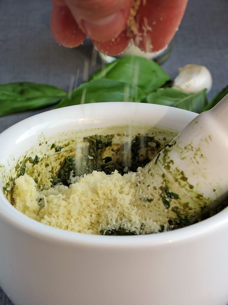 Pesto Recipe With Step-By-Step Photos | YummyAddiction.com