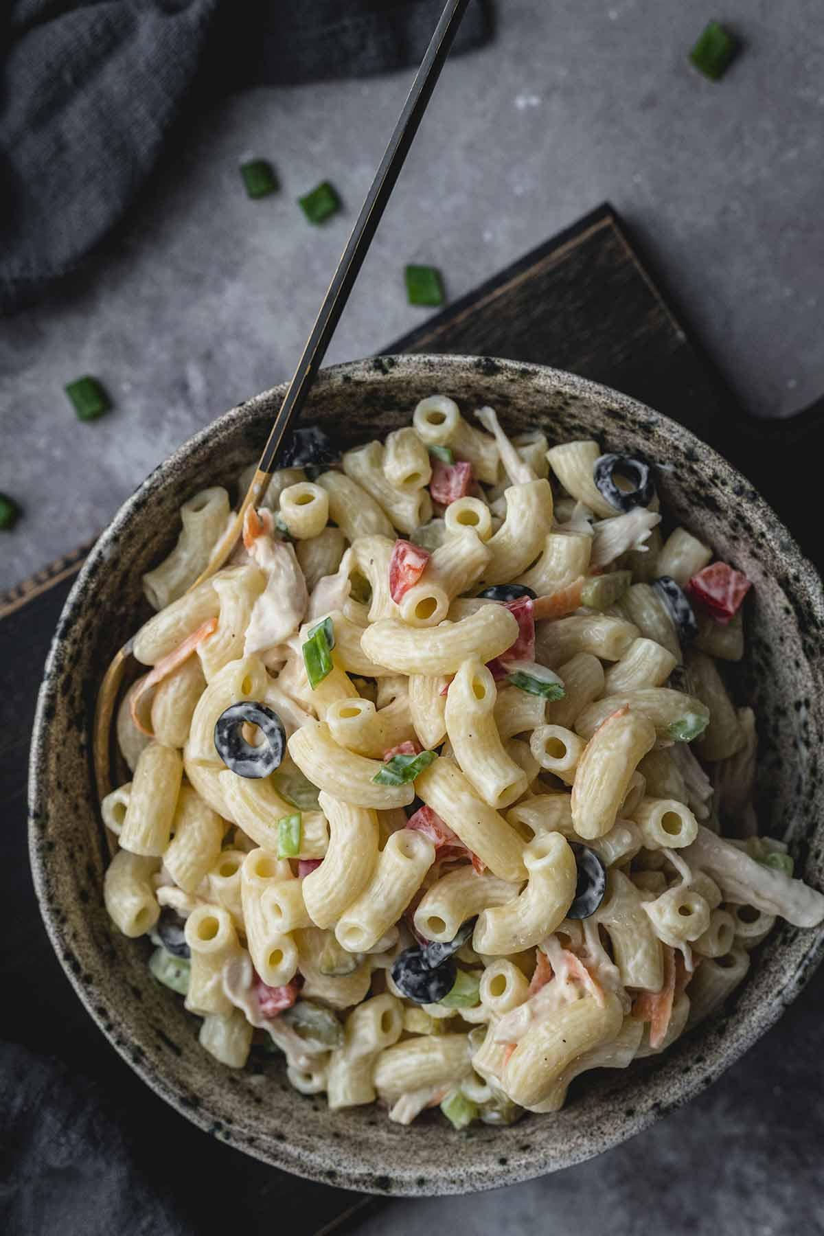 Pasta Salad Recipes With Chicken