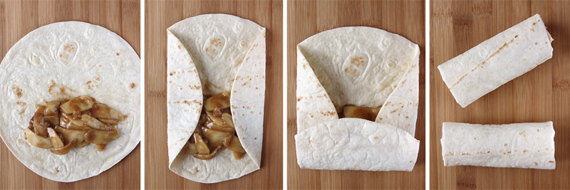 How to Fold The Tortillas | YummyAddiction.com