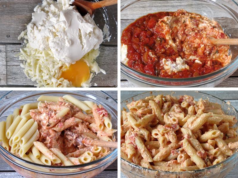 How to Make Baked Ziti With Ricotta | YummyAddiction.com