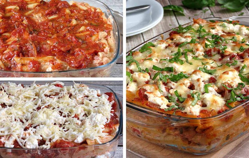 How to Make Baked Ziti | YummyAddiction.com