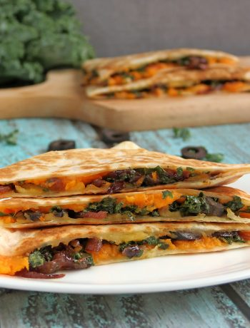 Kale & Sweet Potato Quesadillas
