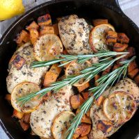 Lemon Rosemary Chicken Breast