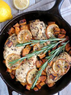 Lemon Rosemary Chicken Breast