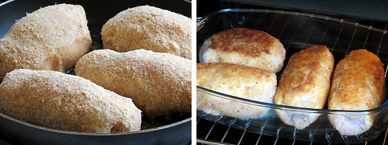 Chicken Kiev From Scratch | YummyAddiction.com