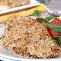 Crispy Baked Panko & Parmesan Crusted Chicken Breasts
