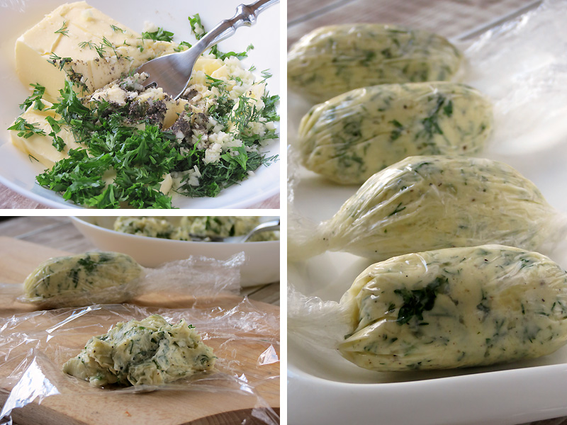 Garlic Herb Butter | YummyAddiction.com