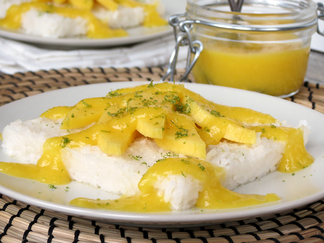 Mango Sticky Rice | @yummyaddiction