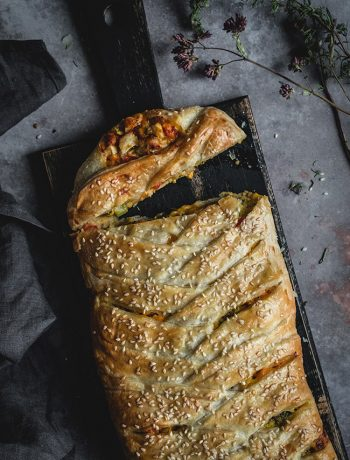 Super Delicious Chicken Broccoli Braid