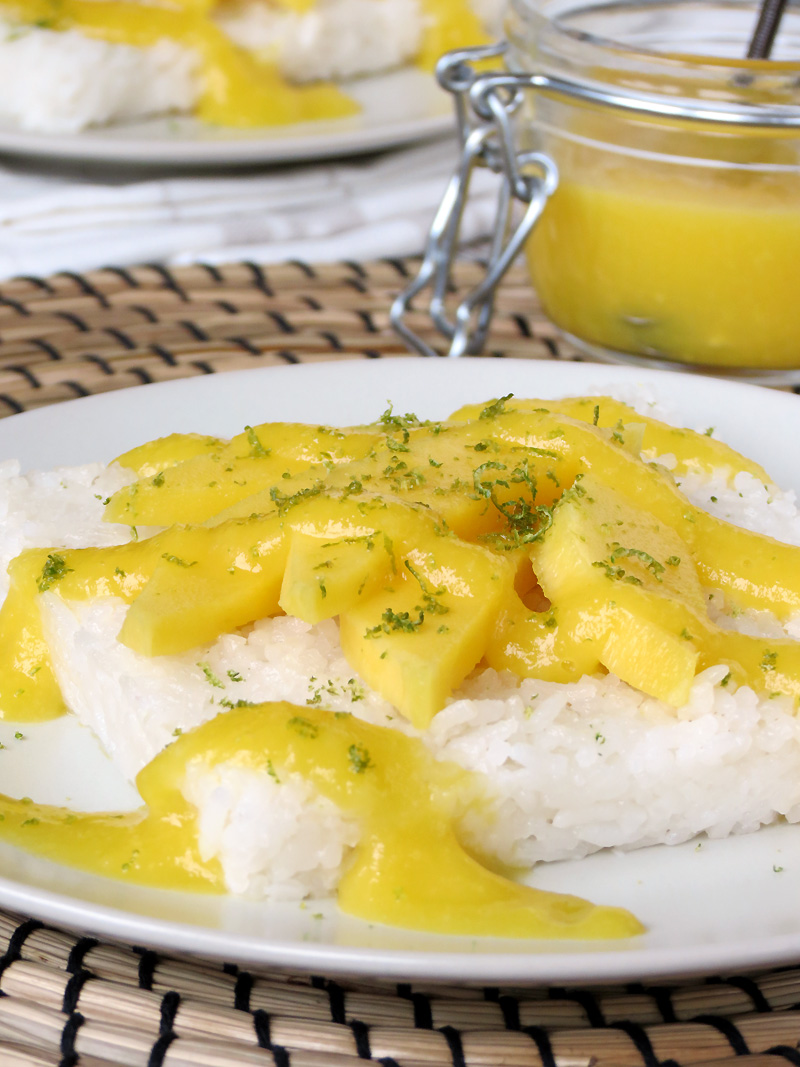 Sweet Sticky Rice With Mango | @yummyaddiction