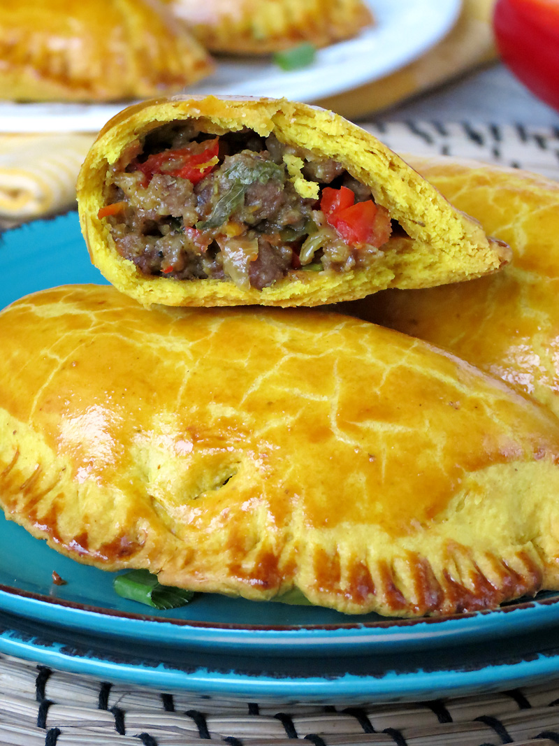 Jamaican Beef Patties (Meat Pies) | @yummyaddiction