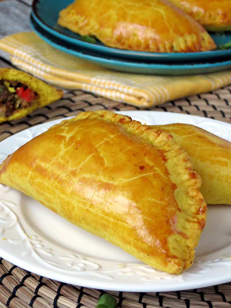 Jamaican Beef Turnovers | @yummyaddiction