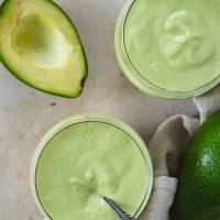 Refreshing Avocado Milkshake