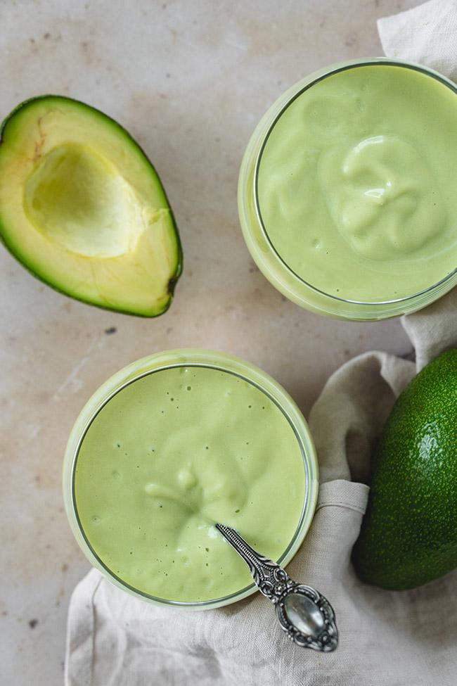 Refreshing Avocado Milkshake | @yummyaddiction