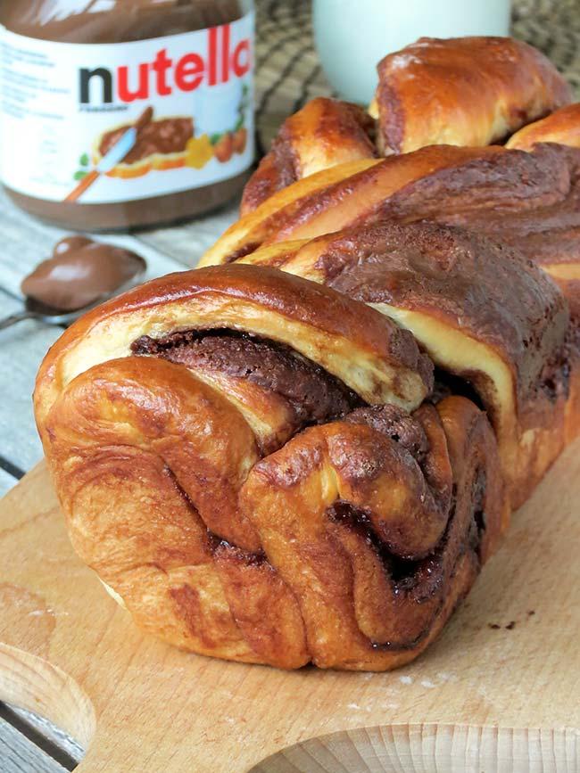 Nutella Braided Bread | @yummyaddiction