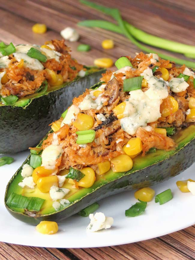 Chicken Stuffed Avocado