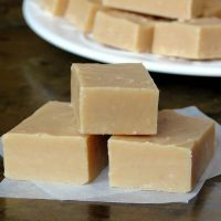 Smooth, Creamy Caramel Fudge With A Nice Kick Of Ginger