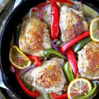 Tender And Juicy Oven Baked Lemon Pepper Chicken Thighs