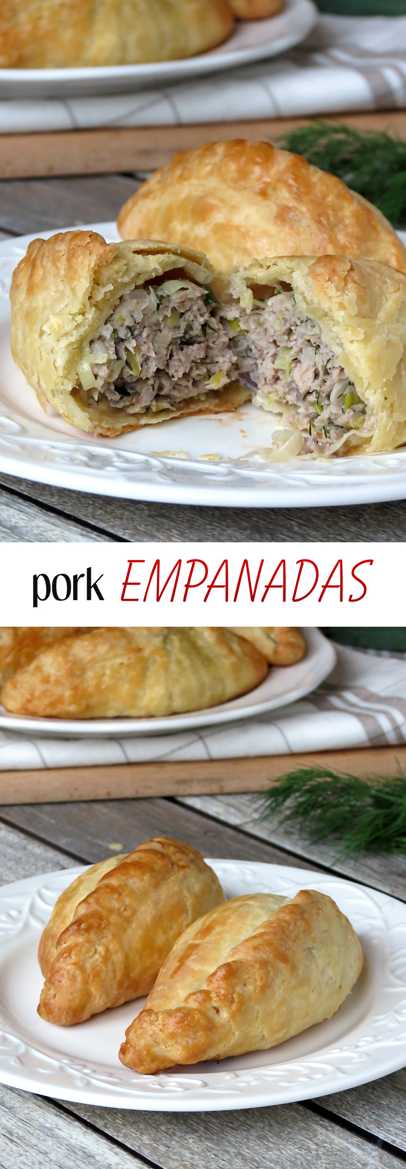 pork empanada A pork butt is slow-cooked to make a savory filling that's tucked inside a  homemade pastry these can be frozen baked or unbaked, and the pork and  empanada.