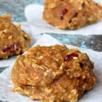 Cranberry Carrot-Cake Cookies